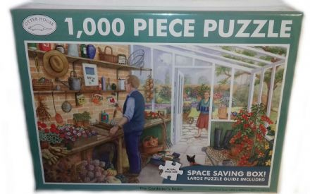 The Gardener's Room Landscape 1000 Piece Jigsaw